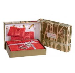"""Набор полотенец """"Cestepe"""" Bamboo Organic. Подарочная коробка. 6-ть цветов"""
