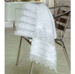 Шикарное полотенце с кружевами GIPURLU Кancer(EA Pup-la)