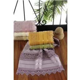 Подарочный вариант полотенца на Крещение. GIPURLU Kancer Color