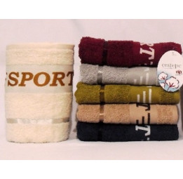 Комплект из 2-х полотенец Олимпик SPORT. Для настоящих мужчин!