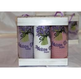Набор вафельных полотенец BOUQET'S(EMD043)