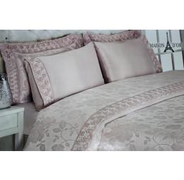 Бамбуковое постельное белье с кружевом Gipurlu's(MD017/018-1)