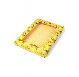 """Стильная упаковка для халатов и полотенец """"Цветочное сияние""""(малая 13/186)"""