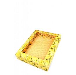 """Стильная упаковка для халатов и полотенец """"Цветочное сияние""""(большая 15/186)"""