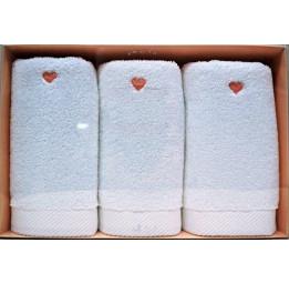 Нежные махровые полотенца-салфетки Love's