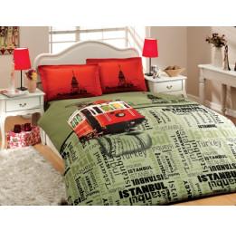 Современная коллекция в стиле Модерн. Сатиновое постельное белье ISTAMBUL V1