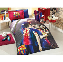 Полуторный комплект белья Barcelona - Barcelona Team