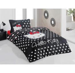Детское постельное белье Hello Kitty Black