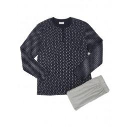 Комплект мужской PJ003 Gentlemen с брюками