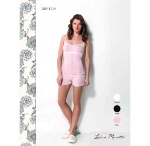 Стильная пижама Luisa Moretti(LMS 1114 pink)