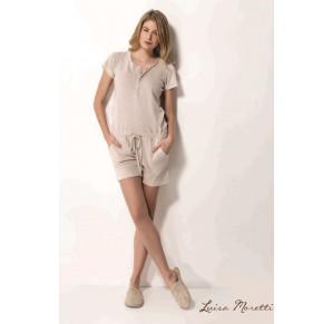 Стильный комбинезон для дома и отдыха Luisa Moretti(LMS 1512)-Хит продаж!