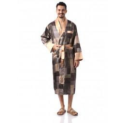 a2aedda378656 Мужские шелковые халаты. Купить недорогой мужской шелковый халат в ...